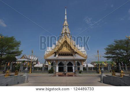 Luang Por sothon travel architecture Buddhism Thailand
