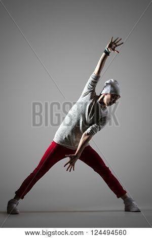 Breakdancer Guy Studio Portrait