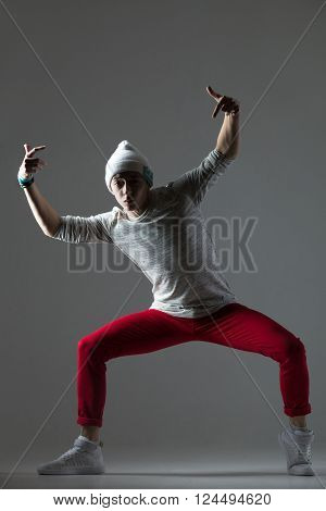 Hipster Guy Dancing