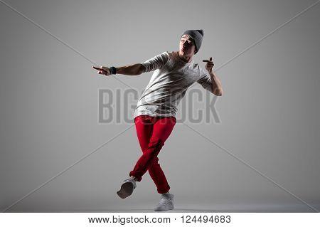 Expressive Dancer Guy