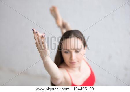 Indoors Yoga Practice