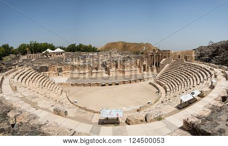 Beit She'an theater. Beit Beit She'an is one of the Northern District city of Israel