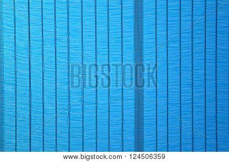close up blue sun shading net texture