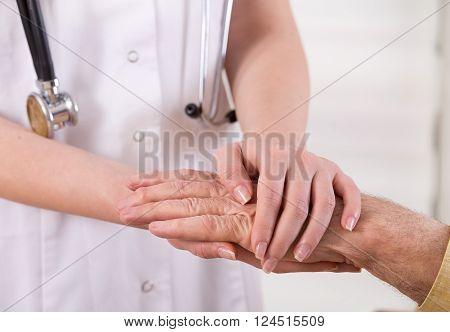 Senior Care Concept