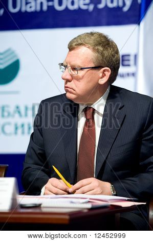 Minister Of Finance Kudrin