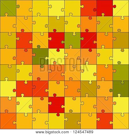 Vector puzzle game for children. Puzzle texture. Jigsaw game for kid. Visual rebus puzzle educational game for preschool child