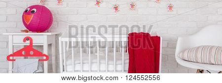 Cozy Room Prepared For Baby