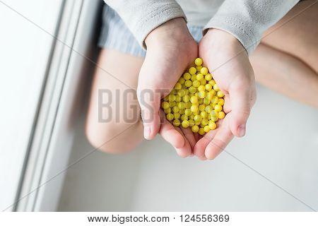 Drops Of Ascorbic Acid
