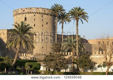 Saladin Citadel of Cairo Egypt ancient fortress