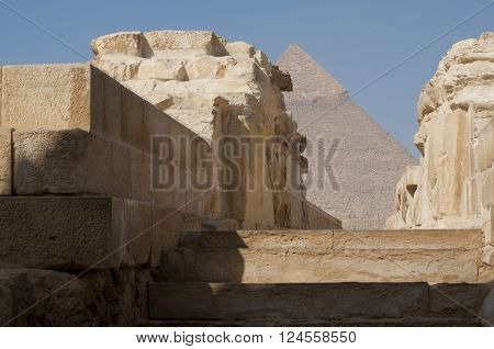 The Great Pyramid of Giza Egypt famous ancient monument