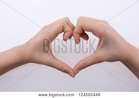 Hand Making A Heart Shape