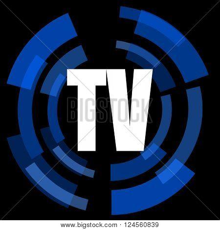 tv black background simple web icon