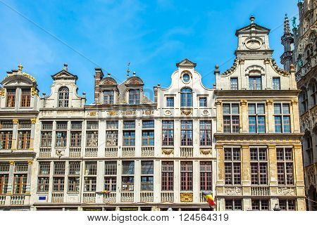 Grand Place (grote Markt) In Brussels, Belgium
