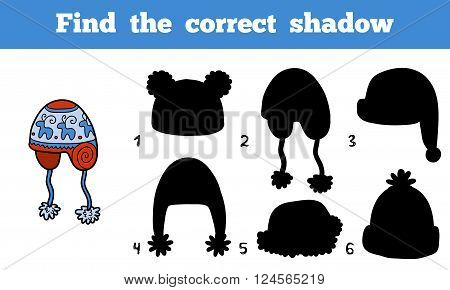 Find The Correct Shadow, Find Cap By The Shadows