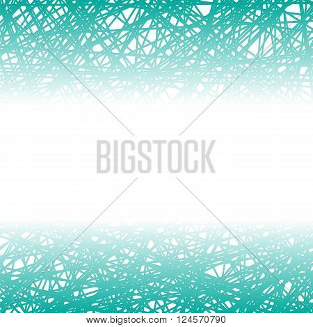 Abstract Azure Line Background. Grunge Azure Line Pattern