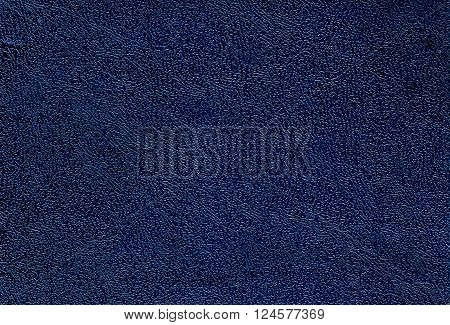 Dark Blue Leather Texture.