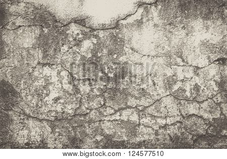hi res grunge cement texture and old background for design - black and white