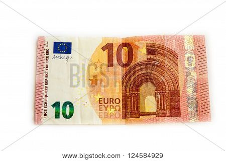 European banknotes Euro currency from Europe Euros.