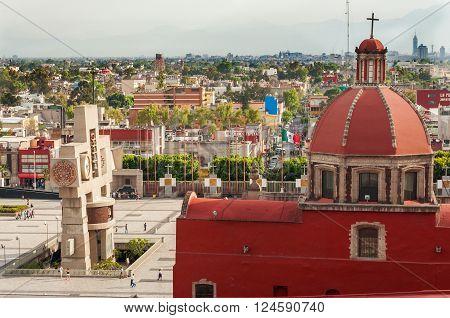 Basilica Of Guadalupe Area