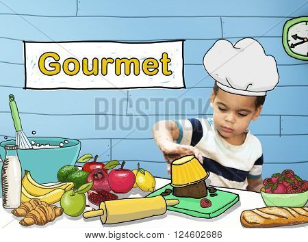 Gourmet Kitchen Food Restaurant Cookery Meal Concept