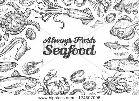 hand drawn sketches collection of food isolated on white background. vector illustration