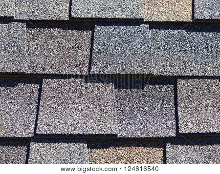 Roofing Shingles Natural Wood Shake Style Pattern