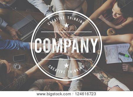 Company Collaboration Associates Cooperation Concept
