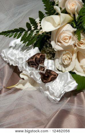 Diamond Laced Bridal Garter