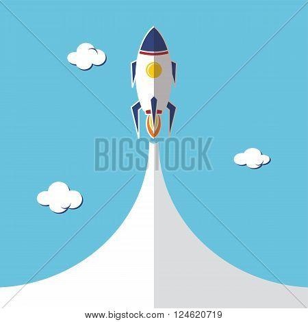 Rocket Ship Launch
