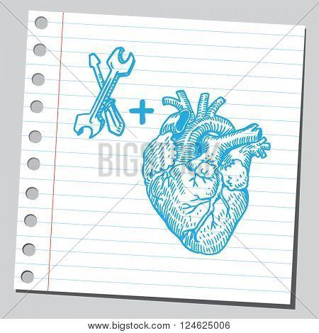 Heart repair