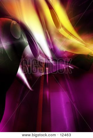 Abstract, Three Dimensional, Digital Background 9
