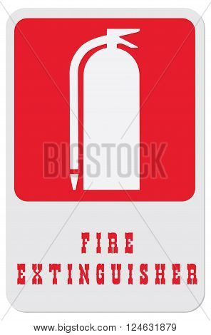 This symbol indicates to find a fire extinguisher.