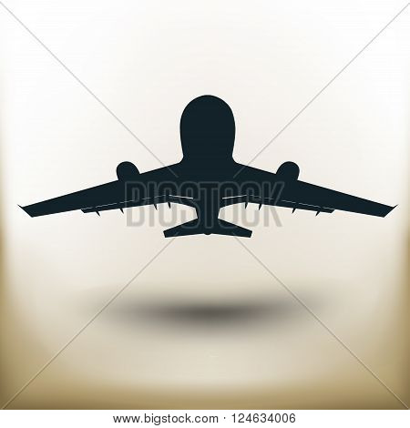 Pictogram Flying Plane