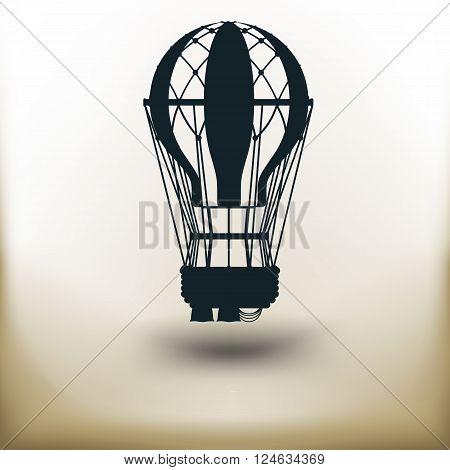 Pictogram Air Balloon