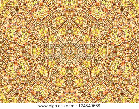 Abstract background with color concentric pattern for design