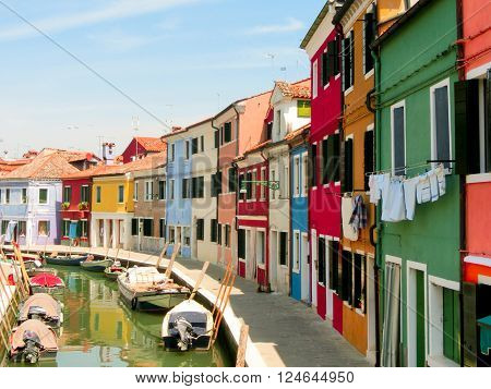 Burano, an island in the Venetian Lagoon, Italy ** Note: Soft Focus at 100%, best at smaller sizes