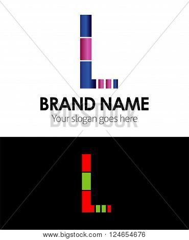 Letter L Letter L vector design template