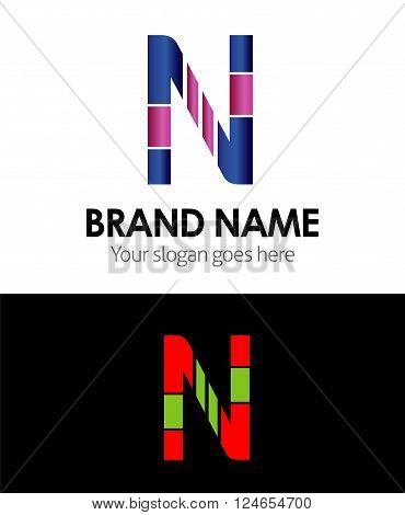 Letter N Letter N vector design template