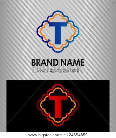 Letter T Letter T vector design template