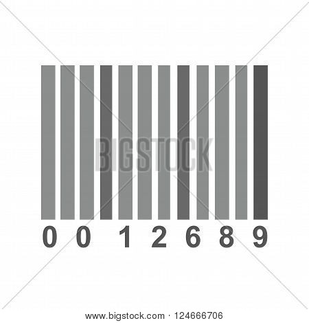 Barcode, scanner, label icon vector image. Can also be used for security. Suitable for use on web apps, mobile apps and print media.
