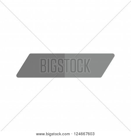 Eraser, rubber, remove icon vector image.Can also be used for stationery. Suitable for mobile apps, web apps and print media.