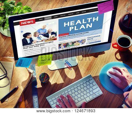 Healthplan Treatment Healthcare Diagnosis Care Concept