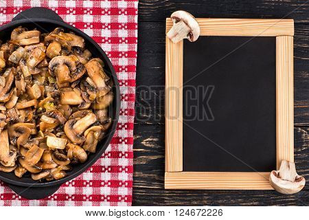 Fried Mushrooms And Menus