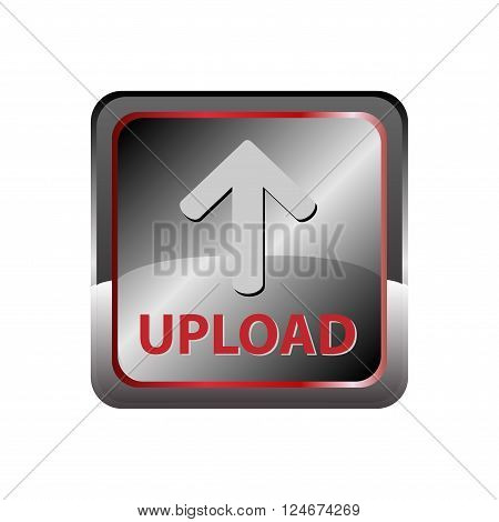 Upload button  Upload button vector design template