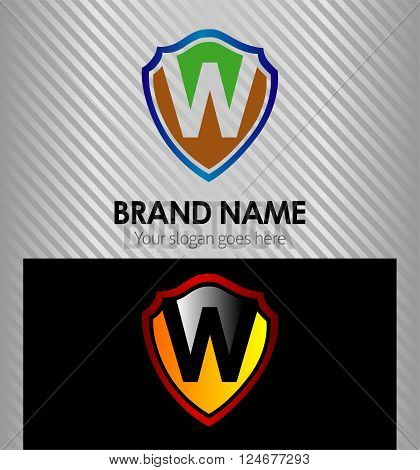W Letter W Letter icon vector sign