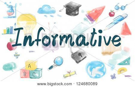 Informative Information Knowledge Study Ideas Concept