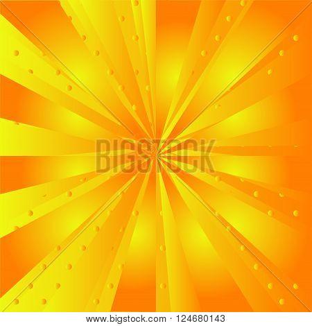 Yellow ray background Yellow ray background gold