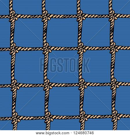 Colorful hand drawn seamless vector stock illustration. Background pattern