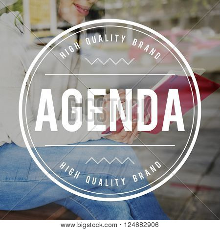 Agenda Appointment Meeting Plan Topic Concept