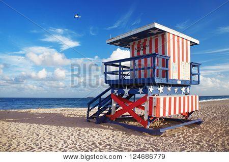 South Beach of Miami Beach United States